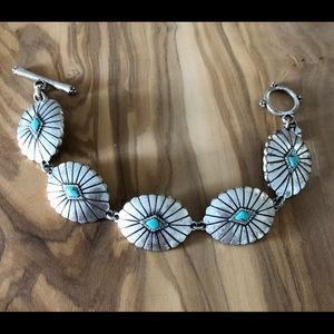 Lucky Brand Faux Turquoise Bracelet